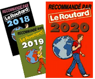Recommandé par le guide du routard 2020