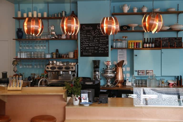 Bar du restaurant Perse à Paris - Sohan Café